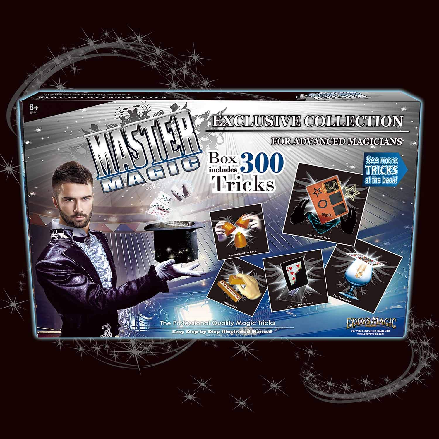 Edddy's Magic Master Magic Exclusive Collection with 300 Tricks by Eddy's Magic