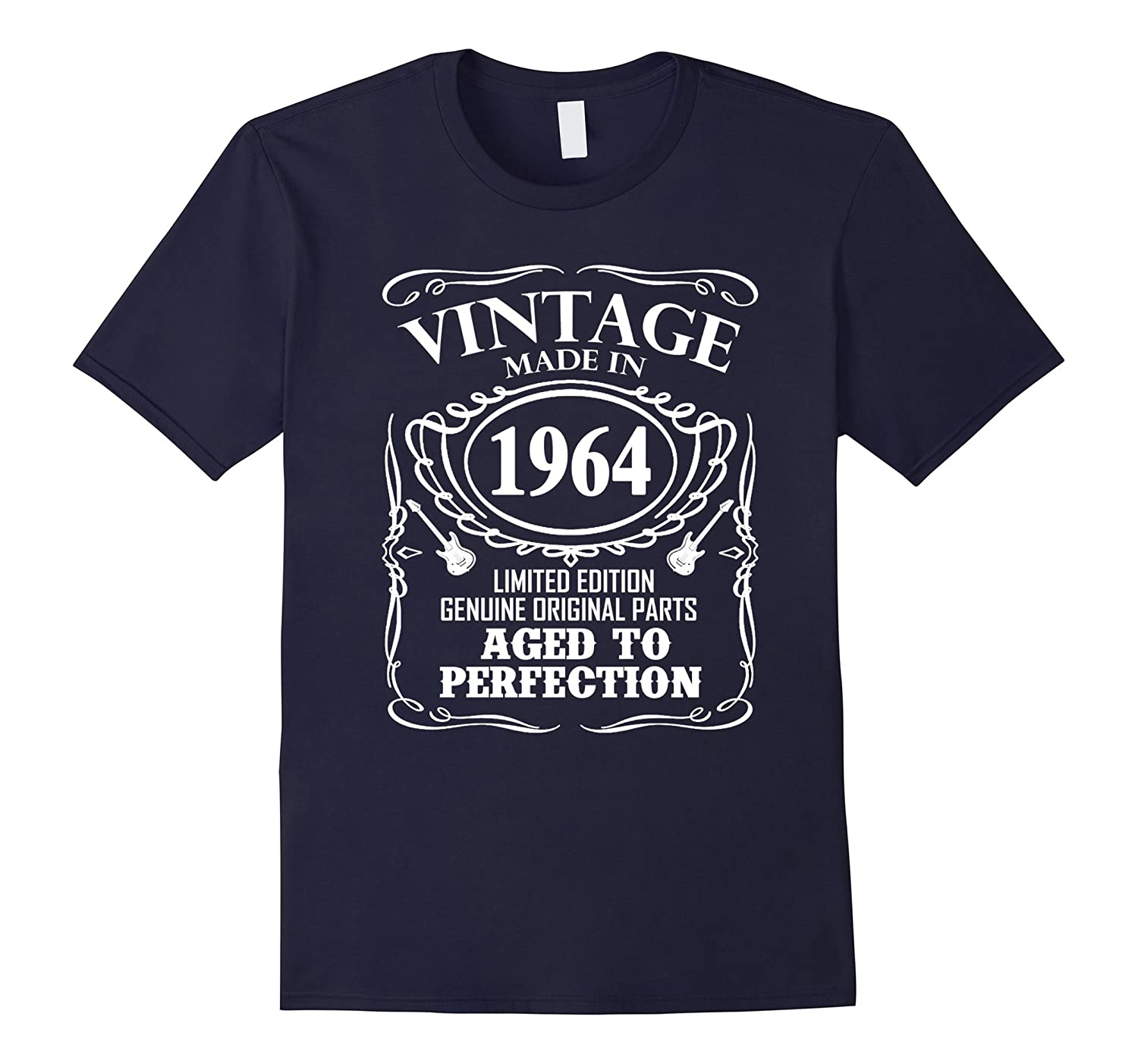 Vintage Made In 1964 53rd Birthday Gift T-Shirt-Vaci