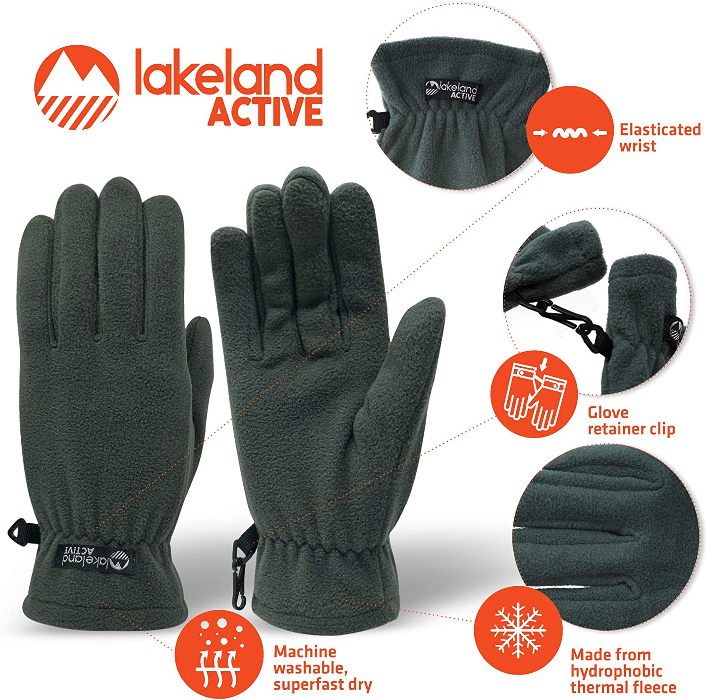 Lakeland Active Kendal Gants en Micropolaire pour Femme