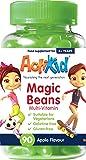 ActiKid Magic Beans Multivitamin 90x Apple Flavour, Gelatine Free, Vitamins for Children