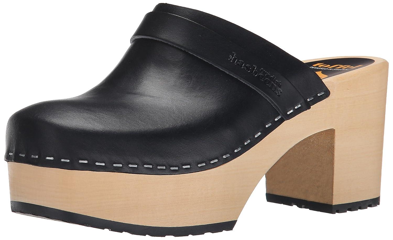 swedish hasbeens Women's Louise Platform Sandal B00VNEC2MQ 40 M EU / 10 B(M) US|Black