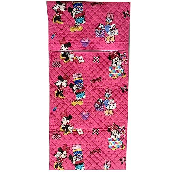 Saco de dormir para parvulario, para niños y niñas. Disponible en varios diseños y colores. De 2 a 6 años. Tejido acolchado, 100% algodón.