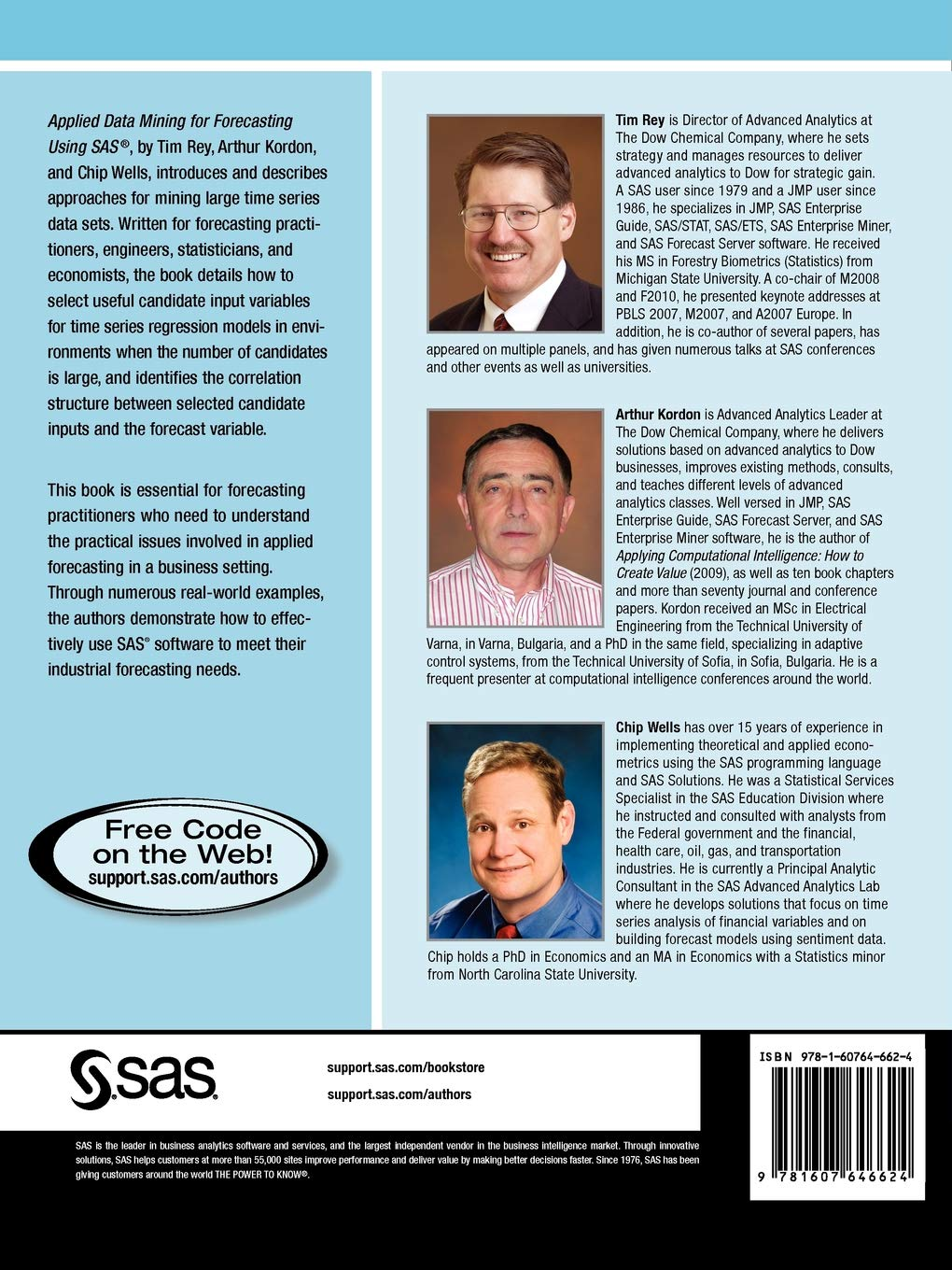 Buy Applied Data Mining for Forecasting Using SAS Book