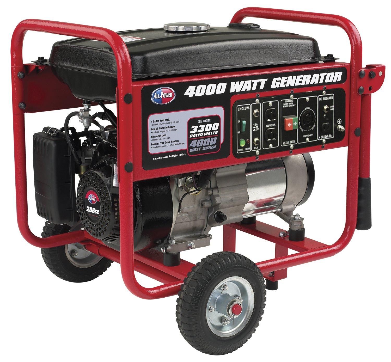 Amazon All Power America APGG4000 3300 Running Watts 4000