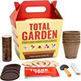 Sproutbrite Wildflower Seed Starter Kit - Sunflowers Daises & More - Grow Your Own Mini Flower Garden - Gardening Gift Kit for Growing Indoors or Outdoors