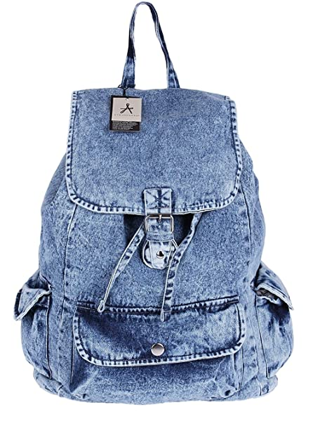 Primark Jeans Wash Denim Backpack Rucksack Ladies Girls School Gym College  Bag  Amazon.in  Bags e7699a49d3e0d