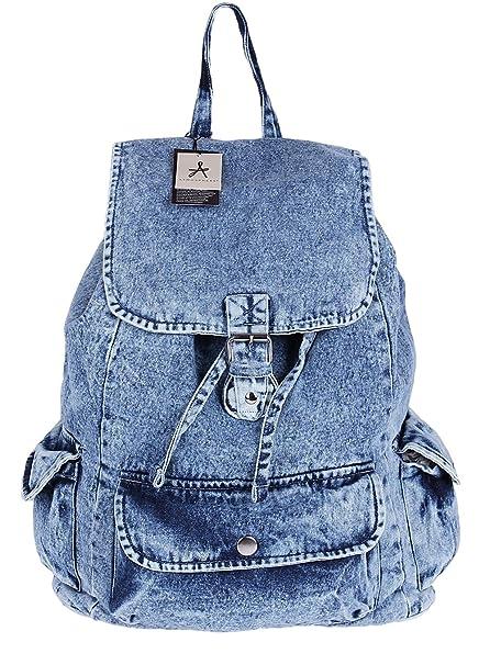 Primark - Bolso mochila para mujer Azul azul: Amazon.es ...