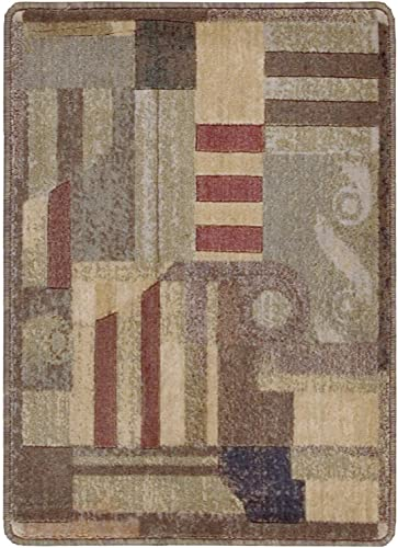 Nourison Somerset Multicolor Rectangle Area Rug, 9-Feet 6-Inches by 13-Feet 9 6 x 13
