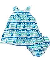 Toby Tiger Girl's Boat Baby Dress & Pants
