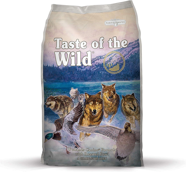 Taste of the Wild Canine Wetlands Pato y Codorniz - 13000 gr