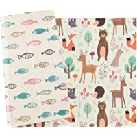 """Qaba Foldable Baby Play Mat, Made with Comfortable Foam, Water-Proof Surface, and Foldable Design, 78.75"""" L x 59"""" W x 0…"""