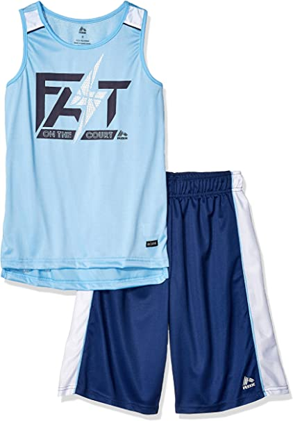 RBX Boys 2 Piece Performance Top and Short Set