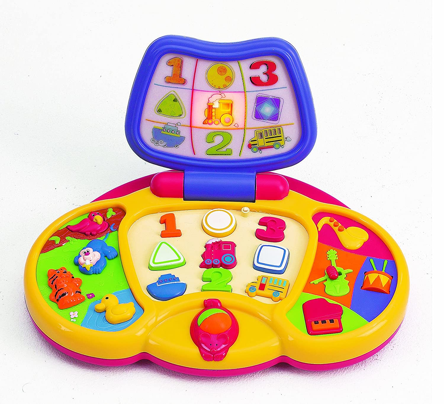 Amazon Small World Toys Preschool First Laptop B O Toys
