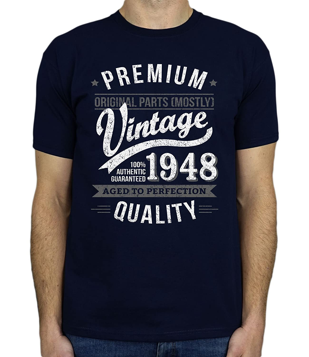 My Generation Gifts 1948 Vintage Year - Aged to Perfection - Cadeaux  Anniversaire 70 Ans T 5898d5672979