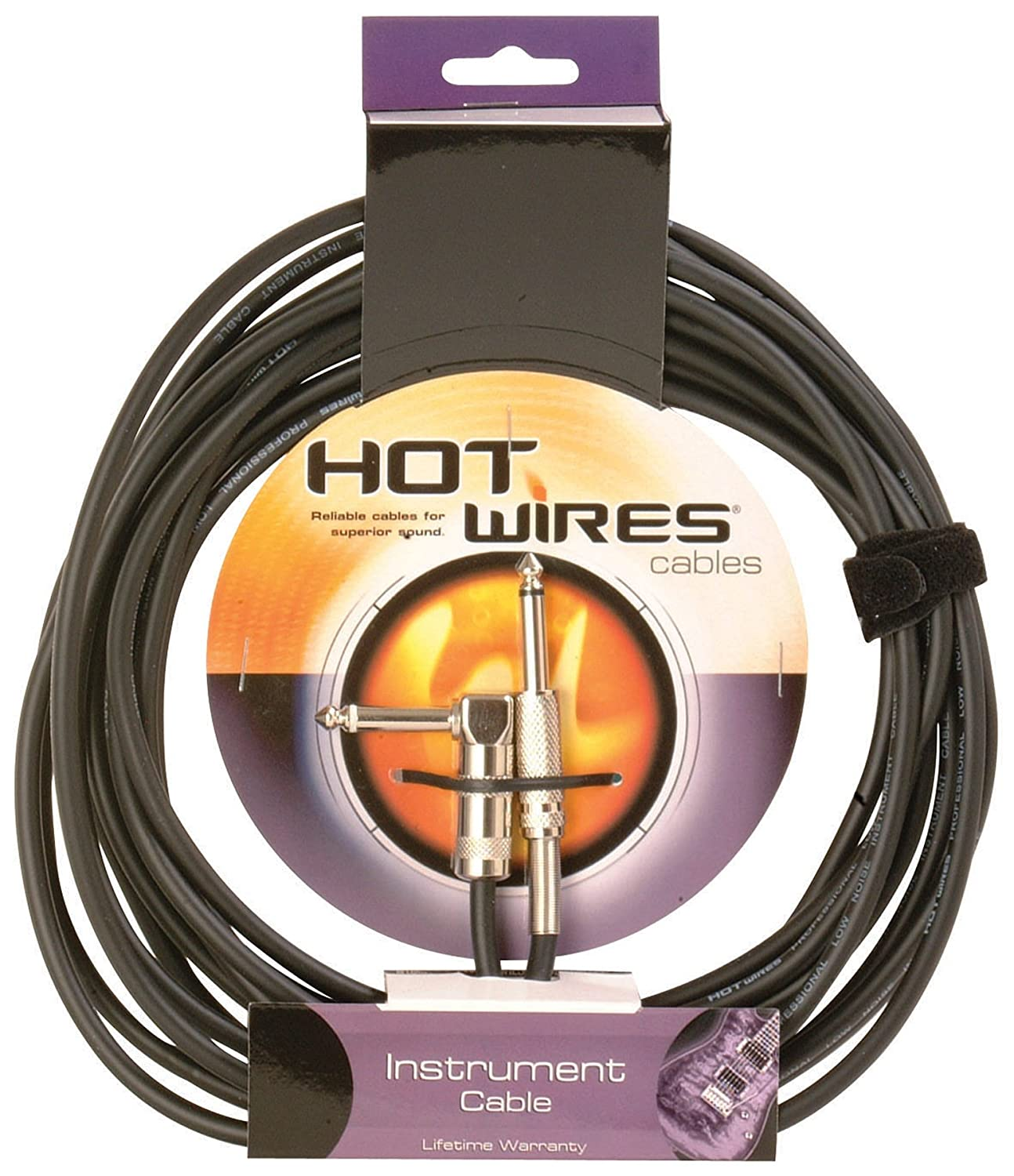 Amazon.com: Hot Wires Guitar Instrument Cables - 10 Feet: Musical ...