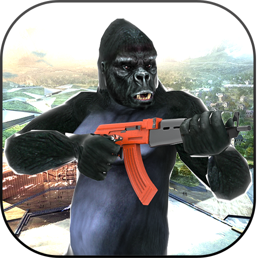 Wild Apes Rampage- Ancient Dead Town Apes Shooting Games (Age Of The Planet Of The Apes)