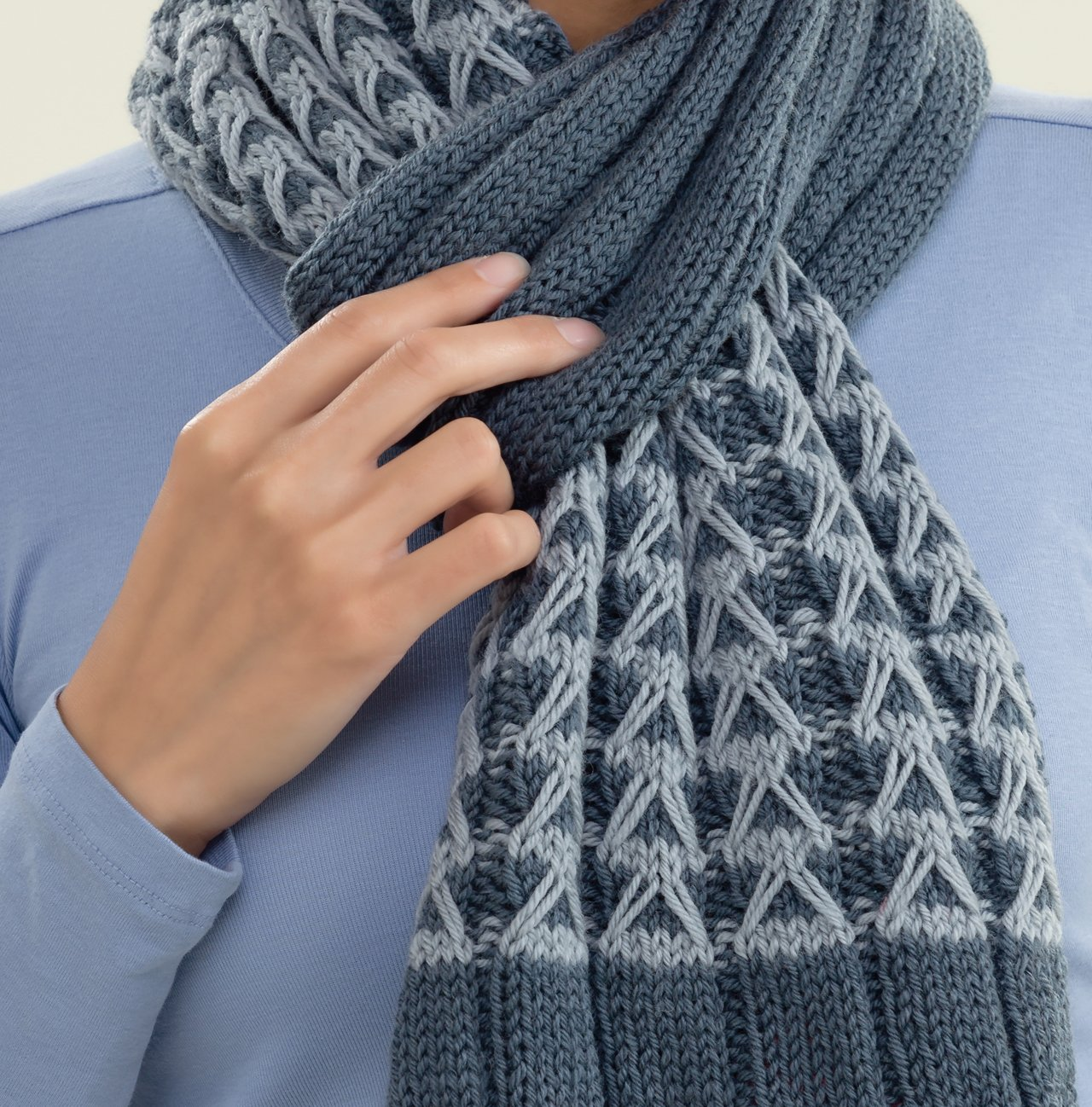 Slip-stitch Knits: Simple Colorwork Cowls, Scarves, and Shawls ...