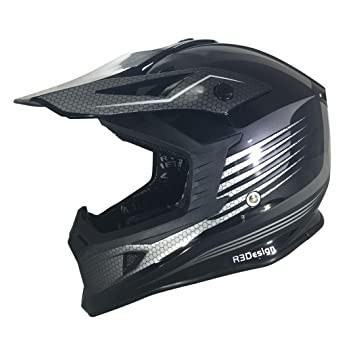 Nueva x-95 RAZR carbono negro Off Road Enduro Motocross ATV Quad para bicicleta adultos