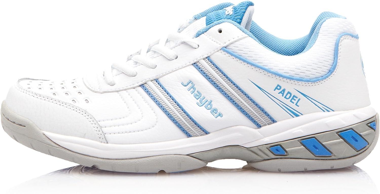 JHayber Zapatillas Tenis-Padel Teax Blanco/Celeste EU 36: Amazon.es: Zapatos y complementos