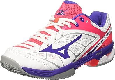 Mizuno Wave Exceed CC (W), Zapatos de Tenis para Mujer: Amazon.es ...