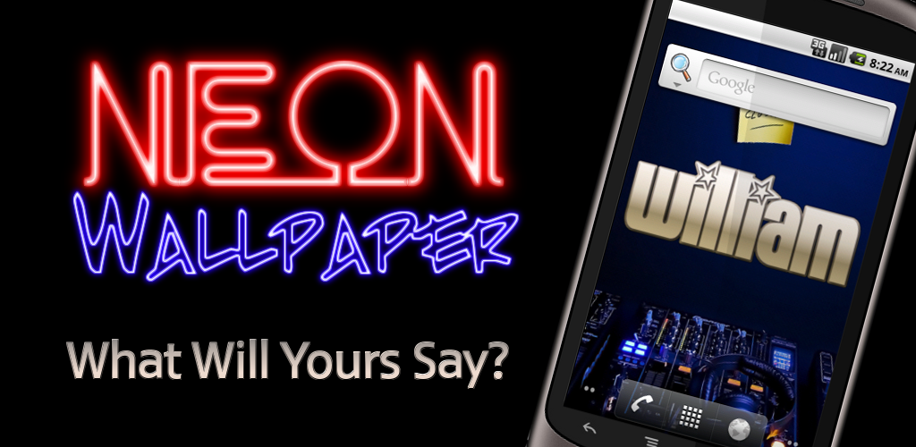 amazoncom neon custom wallpaper maker appstore for android