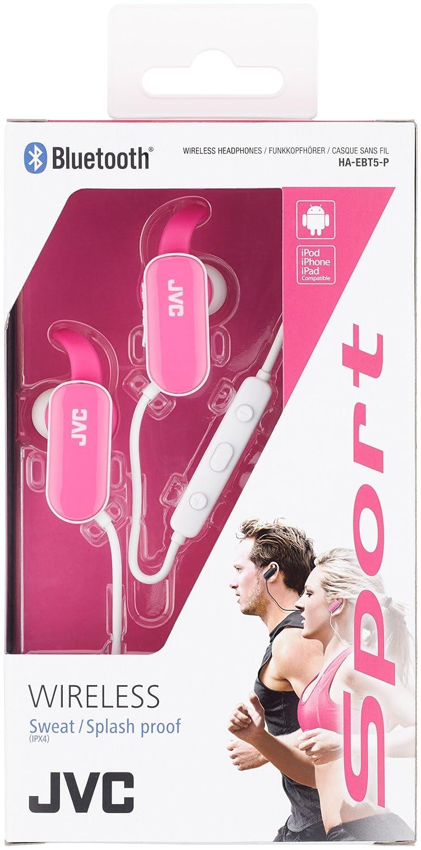 JVC HA-EBT5-R-E Color Rojo - Auriculares: Amazon.es: Electrónica