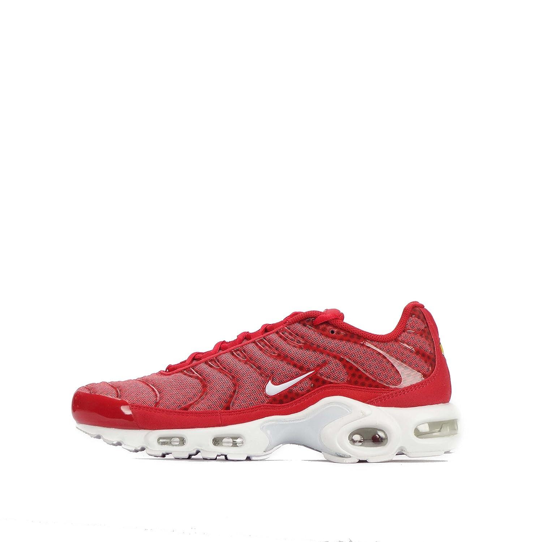 Nike Herren Air Max Plus TXT Turnschuhe  40.5 EU Rojo (Rojo (University Red/White))
