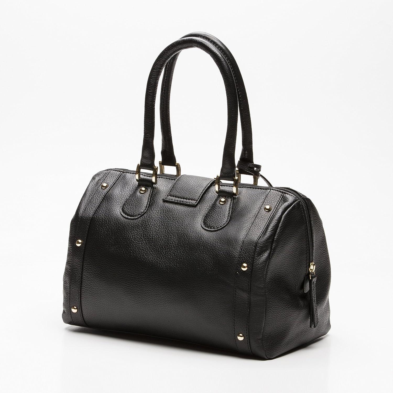 Zerimar Läderväskor för kvinnor | axelväska för kvinnor | äkta läderväskor för kvinnor | vintage axelväskor för kvinnor Ljus svart