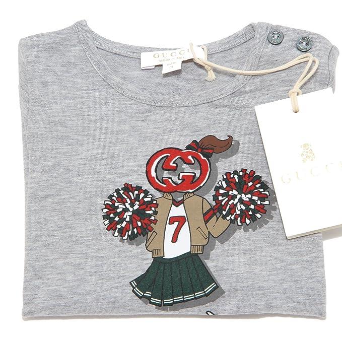 5335i Camiseta Niña Gucci manga larga Camisetas T-shirts Kids Mezcla de grises XX-Small: Amazon.es: Ropa y accesorios