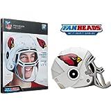 FanHeads Wearable NFL Football Helmets (All Team Options) – Reinforced Laminated Cardboard Adjustable Helmet – One Size…