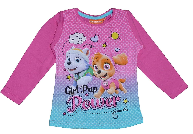 nick Paw Patrol Girls Long Sleeve T Shirt