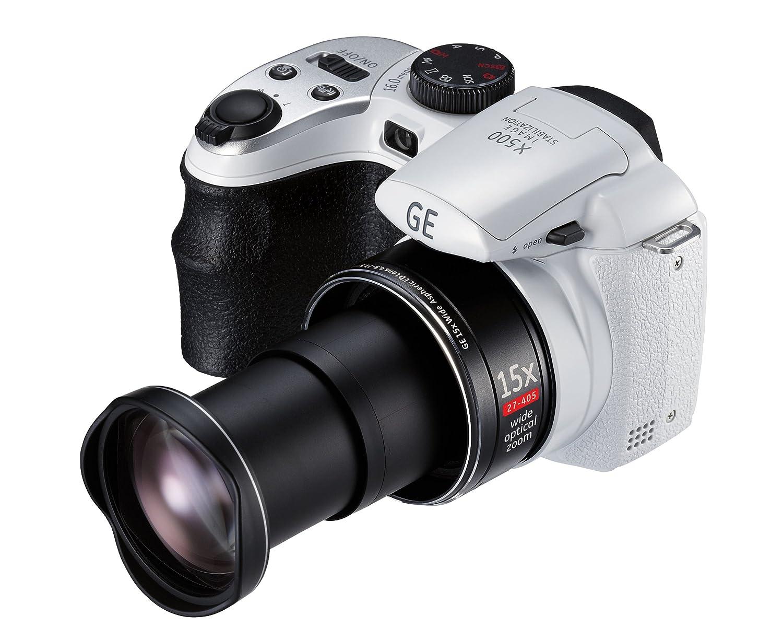 GE X500 Compact Digital Still Camera - White 2.7 inch: Amazon.co.uk: Camera  & Photo