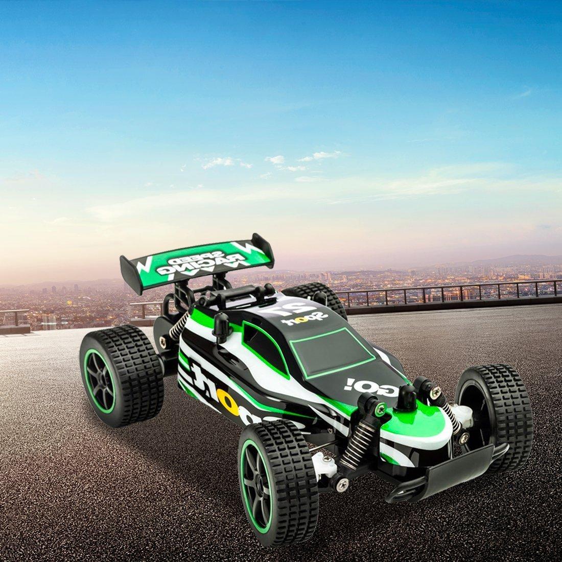 FSTgo/® RC Auto High Speed Gel/ändewagen Drift Crawler Truck 2,4 GHz 2 WD 1 Rot 20 Fernbedienung Racing Cars elektrische Schnell Race Buggy Hobby Auto