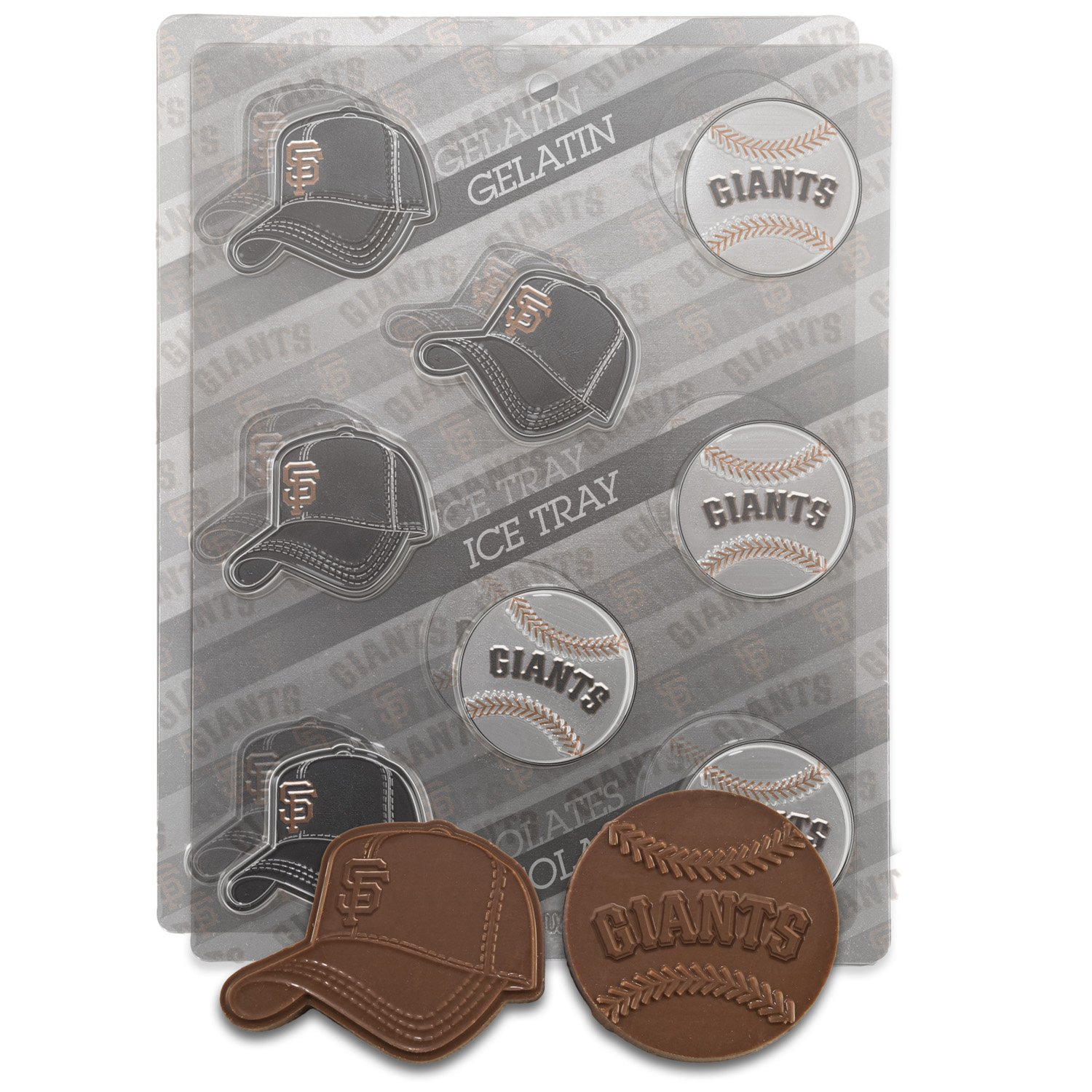 Amazon.com: MLB San Francisco Giants Candy Mold (Pack of 2 ...