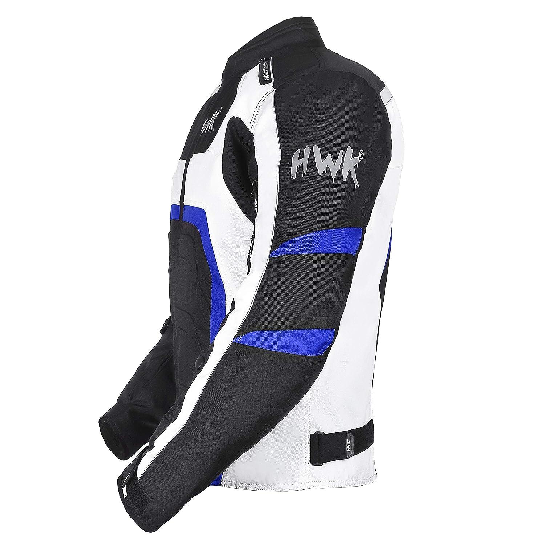 Amazon.com: HWK Textile Motorcycle Jacket Motorbike Jacket ...