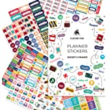 Budget Stickers by Clever Fox - 14 Sheets Set of 1030+ Unique Budget Planner Stickers for Your Monthly, Weekly & Daily…