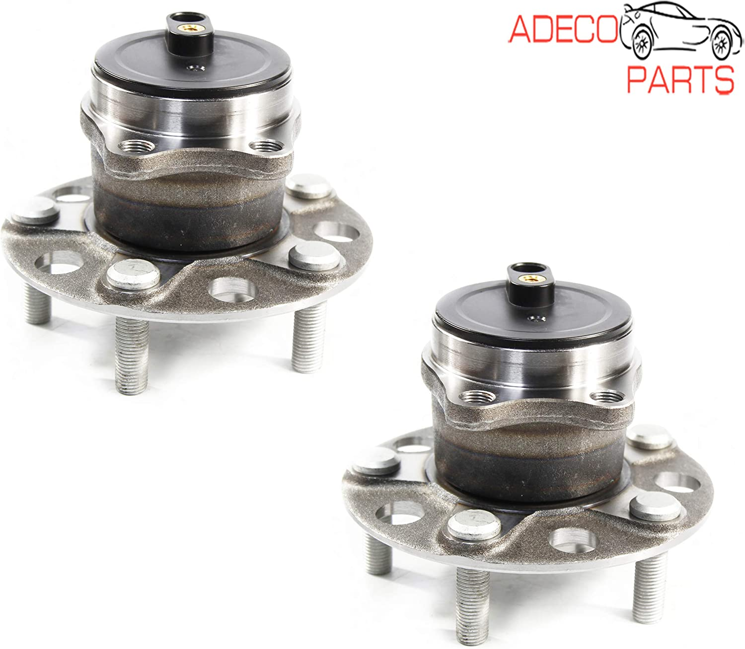 AdecoAutoParts/© Two Front Rear Wheel bearing /& Hub Assembly WH512514 WH930899 for 200 Cherokee FWD 2014 2015 2016 2017 2018 2019