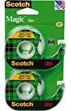 Scotch Magic Tape, 1/2 x 750 Inches, 2-Pack (119SDM-2)