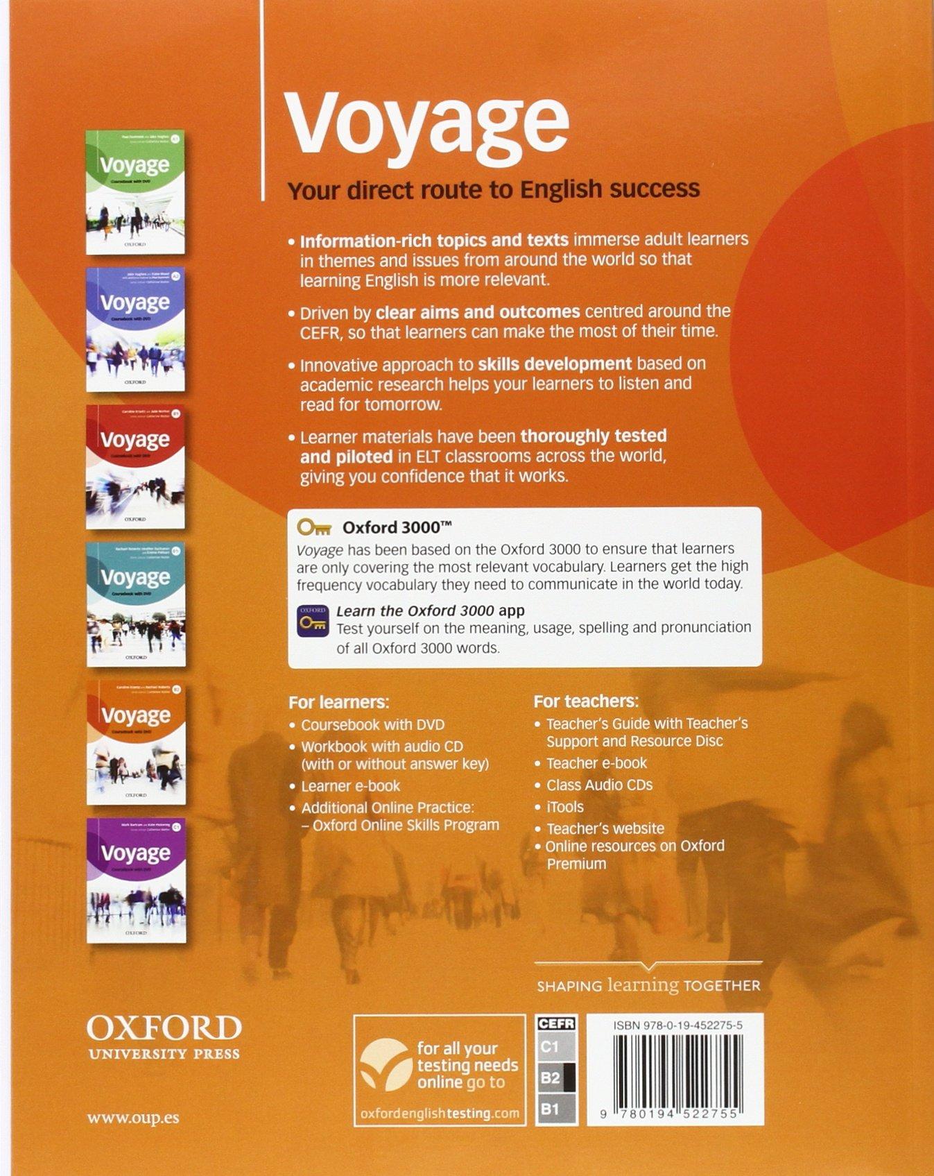 Voyage B1. Students Book Teachers Edition . OLB-App: Amazon.es: Krantz, Caroline: Libros