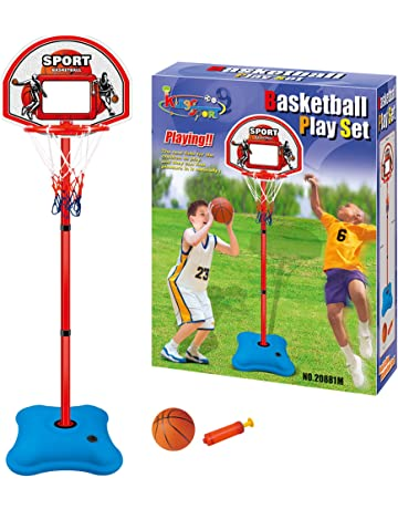 10ff9bbc6 BasketBall Set Free Standing Hoop Net Backboard With Adjustable Stand 173  cm…