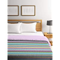 Portico Printed 120 GSM Double Bed Comforter- 2.2 m X 2.4 m