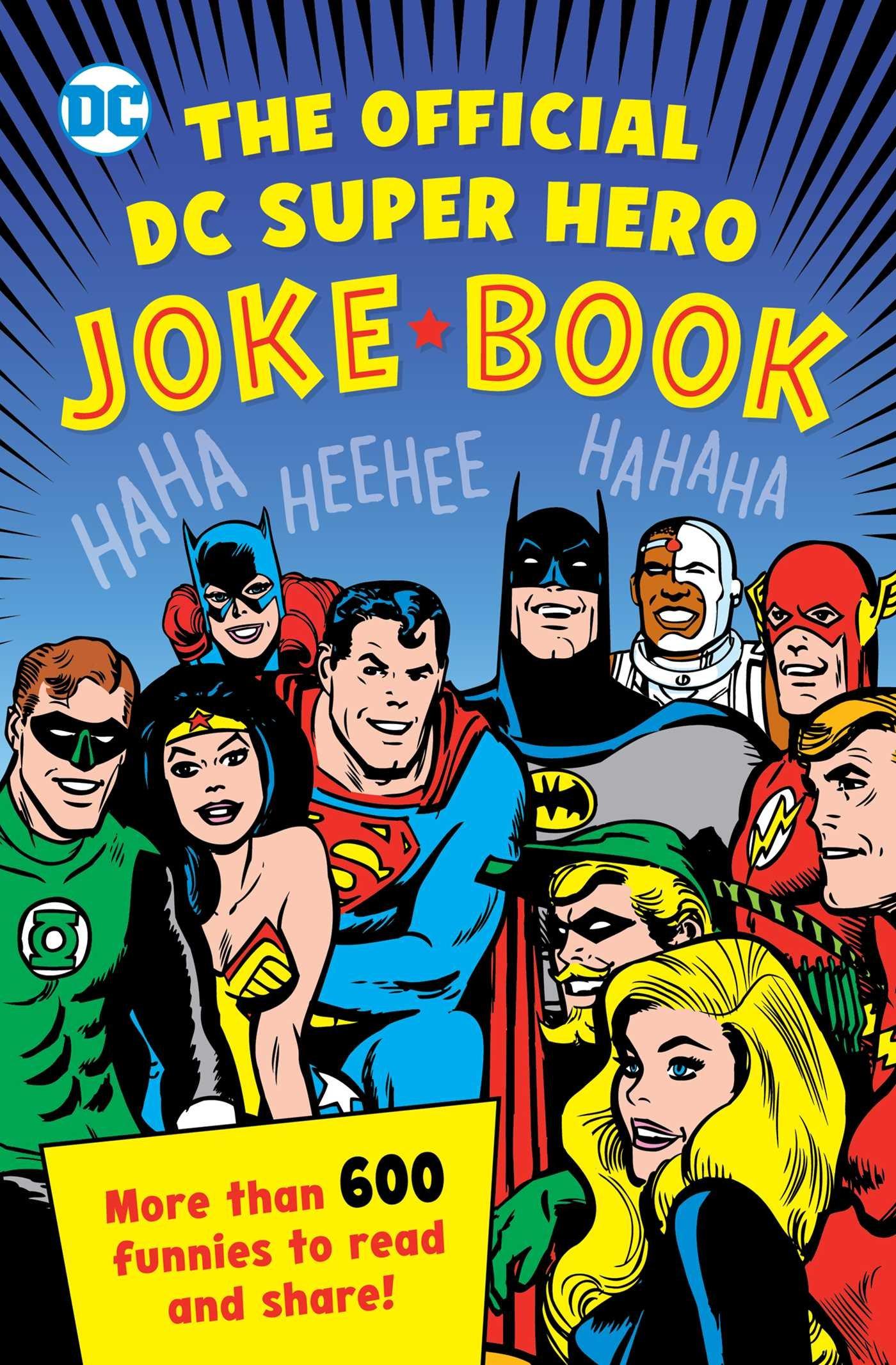 Official Super Hero Joke Heroes product image