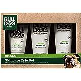 Bulldog Mens Skincare & Grooming Original Skincare Trio Including: Facial Moisturizer, Face Wash & Shave Gel