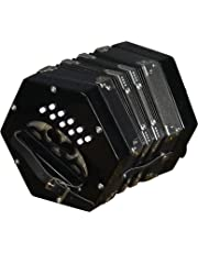 Trinity College AP-1120 Anglo-Style Concertina 20-Button - Black