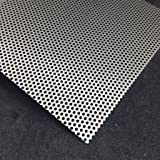 edelstahl lochblech 500 x 500 mm 1 mm blank blech edelstahlblech baumarkt. Black Bedroom Furniture Sets. Home Design Ideas