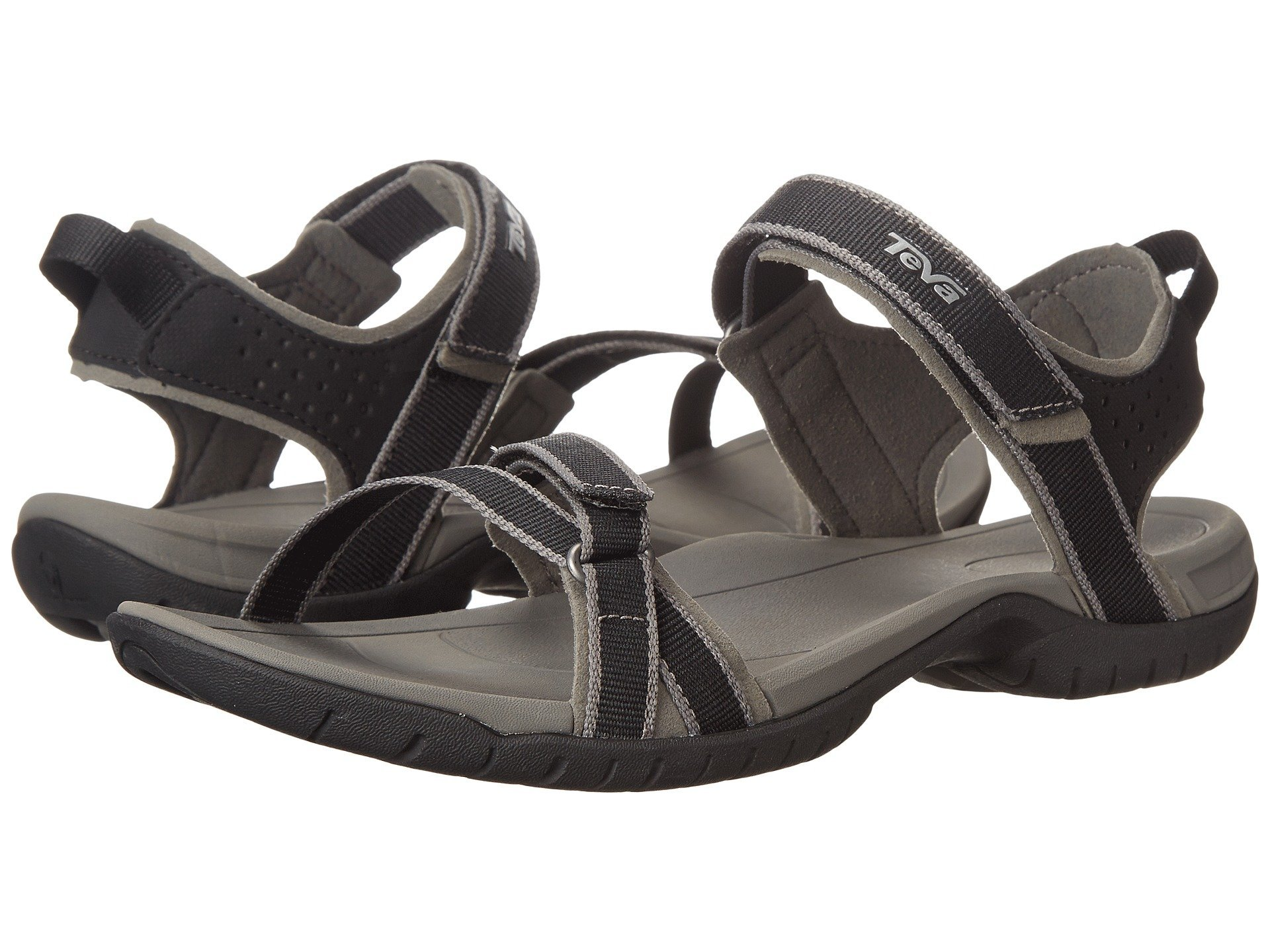 Teva Women's W Verra Sandal (7 M US, Black/Grey)