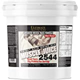 Ultimate Nutrition Muscle Juice Weight and Muscle Gainer Protein Powder - Gain Weight Fast with 55g Protein 162g Carbs and 1020 Calories Per Serving, Cookies N Cream, 10.45 Pounds