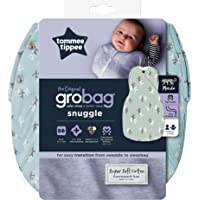 Tommee Tippee Baby Sleeping Bag, The Original Grobag Snuggle, Soft Bamboo-Rich Fabric, Oeko-TEX® Approved Wadding, 3-9m…