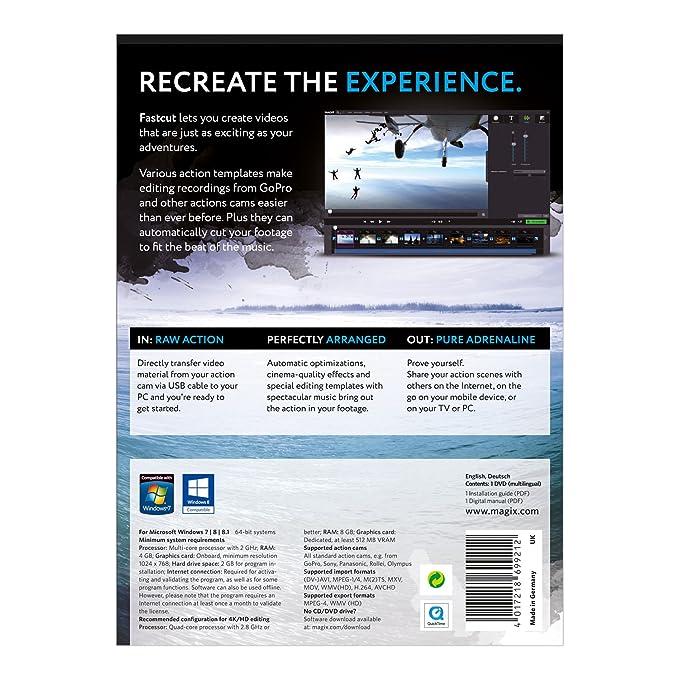 Magix Fastcut Video Editing Software: Amazon.co.uk: Software