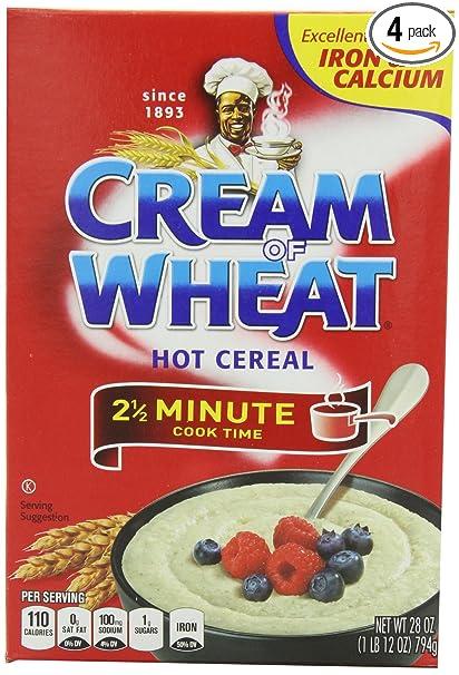 Crema de trigo original Stove parte superior 2 1/2 minutos ...